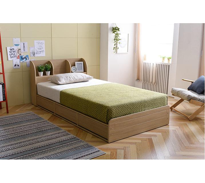 에코 수납형 침대 2color