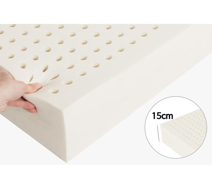 타이노블 100% 천연라텍스 매트리스 15cm 킹(K)