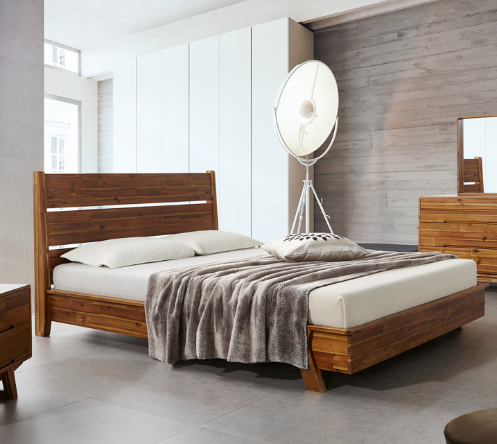 [렌탈]주드로 아카시아원목 침대 퀸(Q) / 월 35,800원