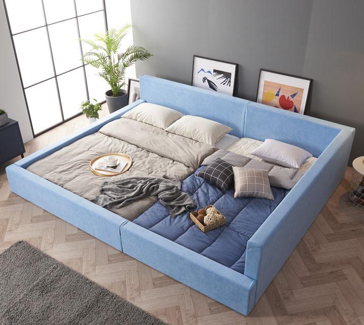 [렌탈] 카멜 패밀리 침대 Q+SS (깔판+매트리스포함포함) / 월49,800원