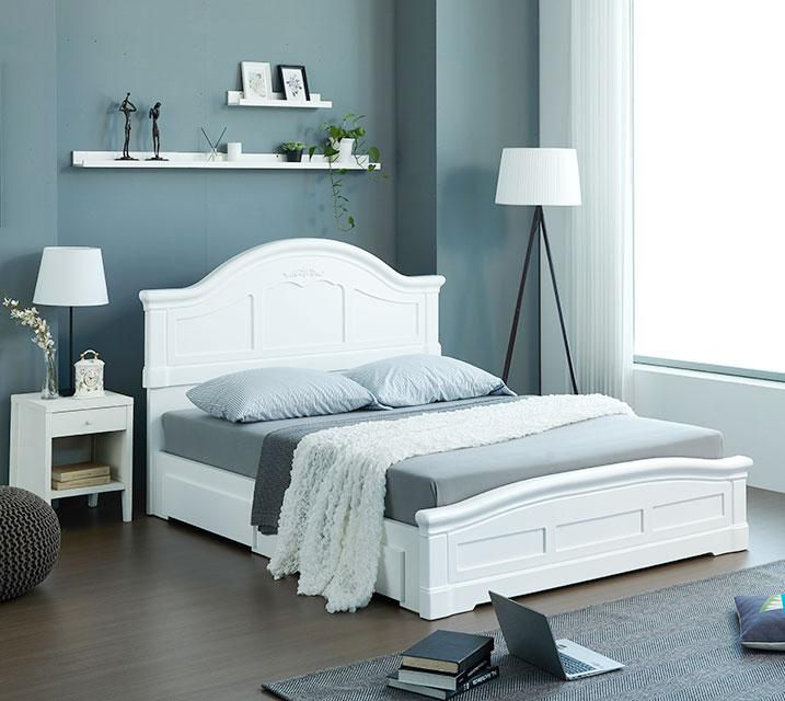 [렌탈] 젤리아 서랍형 침대 프레임 퀸(Q) / 월 29,800원