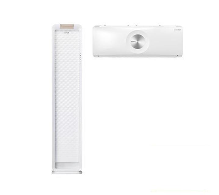 [L_렌탈] 위니아 에어컨 스탠드17평+벽걸이 7평 화이트 WPVS17CWEGM  월62,900원