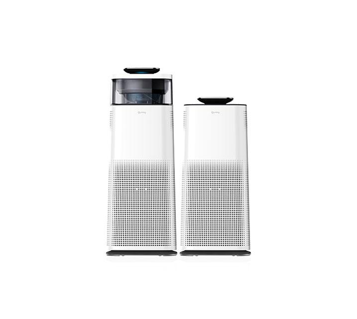 [G_렌탈] 현대큐밍 공기청정기 더 케어 HA-831W,HA-832W(세트) / 월35,900원