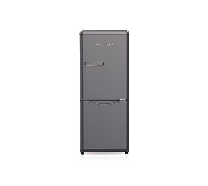 [S] 위니아대우 더클래식 레트로 냉장고 실버 150L WKRS154CPS / 월 13,300원