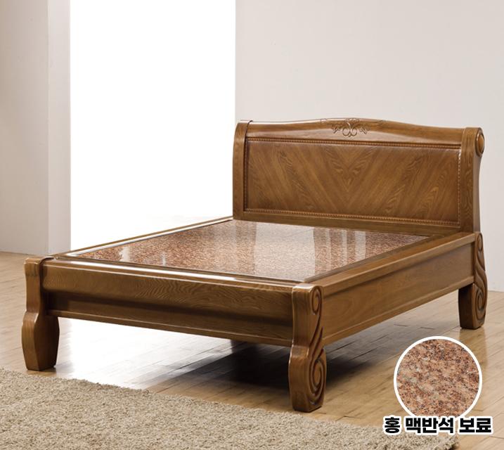 바른 Q 돌 흙침대 (홍맥반석 보료) / 월65,800원