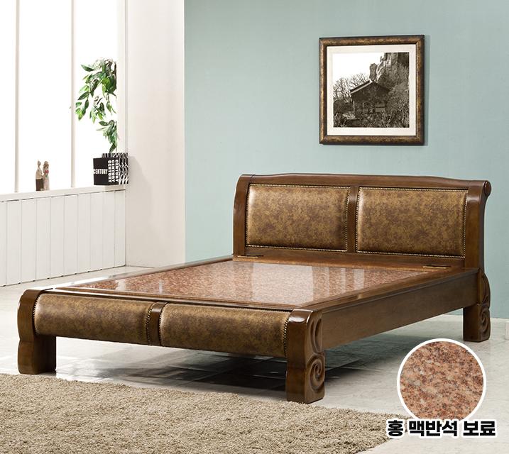 수련 Q 돌 흙침대 (홍맥반석보료) / 월 55,800원