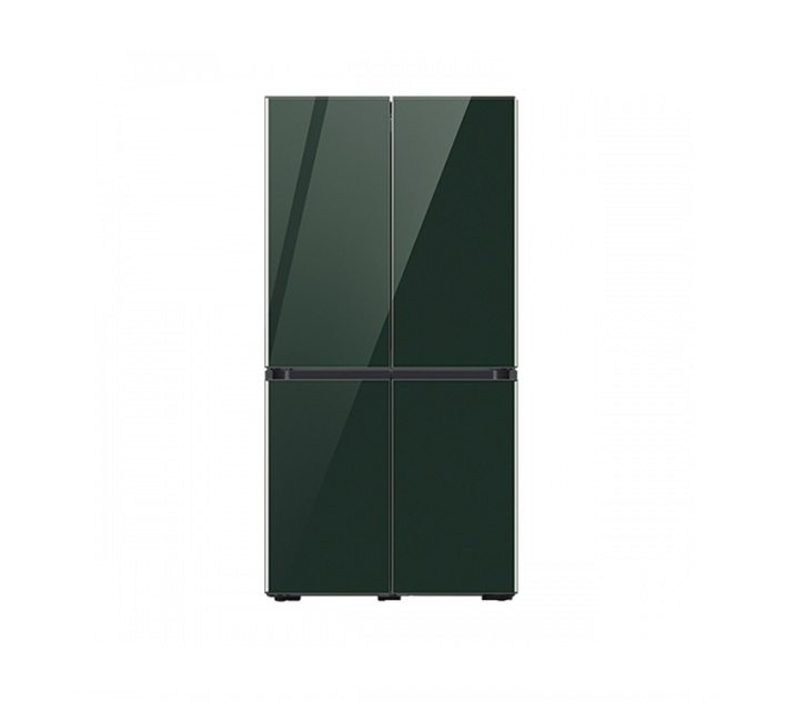 [L] 삼성 냉장고 4도어 비스포크 양문형 871L 글램딥그린 RF85T901342 / 월 58,700원