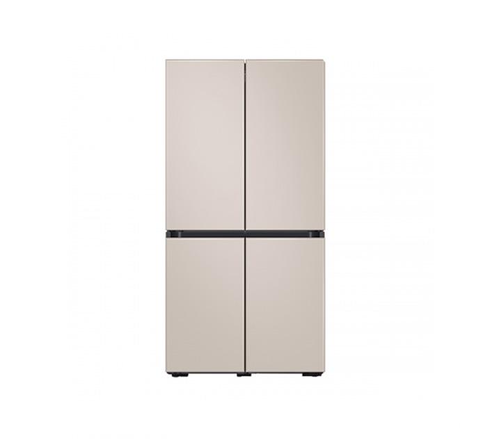 [L] 삼성 냉장고 4도어 비스포크 양문형 871L 새틴베이지 RF85T901339 / 월 58,700원