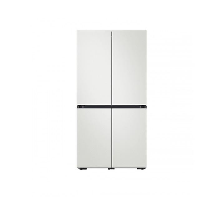 [L_렌탈] 삼성 냉장고 4도어 비스포크 양문형 871L 코타화이트 RF85T901301 / 월 58,700원