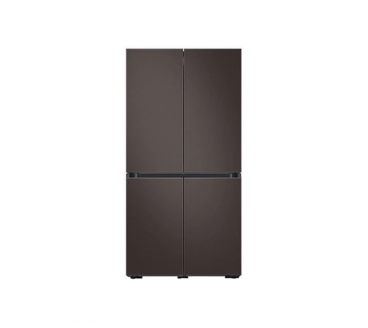 [L_렌탈] 삼성 냉장고 4도어 비스포크 양문형 871L 코타차콜 RF85T901305 / 월 58,700원