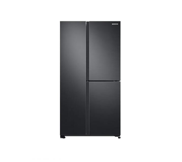 [L_렌탈] 삼성 냉장고 세미 빌트인 양문형 냉장고 인버터 635L 리얼메탈 RS63R557EB4 / 월 45,900원