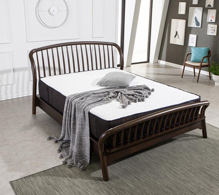 북유럽 다나 고무나무 침대 프레임 퀸(Q) / 월 43,800원