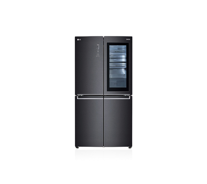 [렌탈] LG 디오스 노크온 매직스페이스 냉장고 맨해튼 미드나잇 870L F873MT95E / 월107,000원
