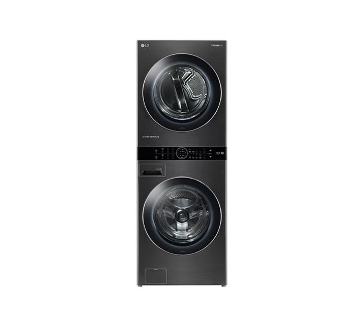 [L_렌탈] LG 워시타워 세탁기(21kg)+건조기(16kg) 블랙 W16KS / 월108,000원