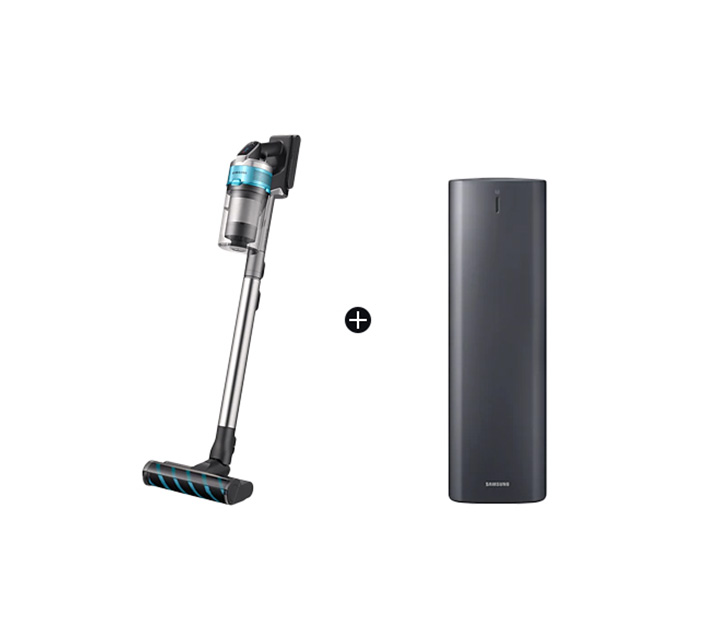 [렌탈] 삼성 제트 200W 무선청소기 민트 청정스테이션 패키지 + 펫브러시 추가 VS20T9279S6CS / 월 29,500원
