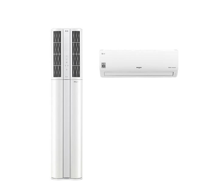 [L_렌탈] LG 휘센 에어컨 18+7평형 FQ18DADWA2 / 월 77,900원