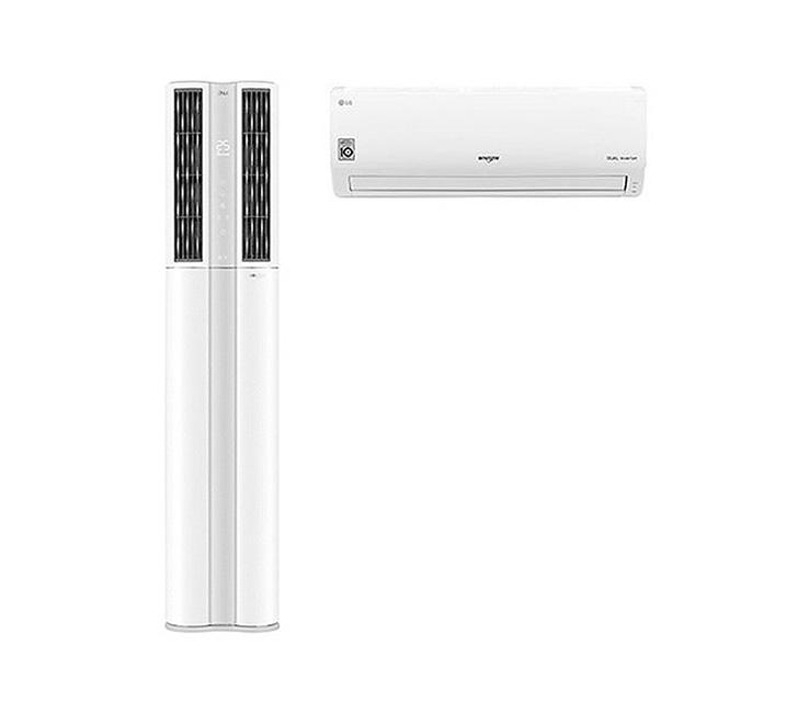 [L_렌탈]  LG 휘센 듀얼 디럭스 에어컨 23평+7평형 FQ23DADWA2 / 월 91,000원
