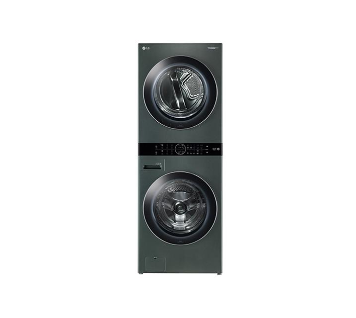 [L_렌탈] LG 워시타워 세탁기(21kg)+건조기(16kg) 그린 W16GT / 월109,000원
