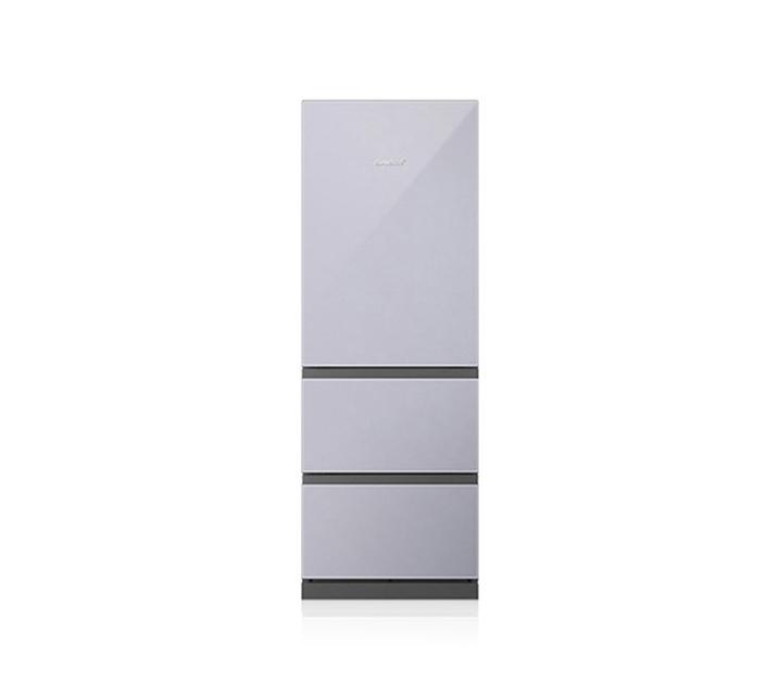 [S] 위니아 딤채 3도어 실키세레니티 스탠드형 김치냉장고 실버 330L BDT33EKGWS / 월52,500원