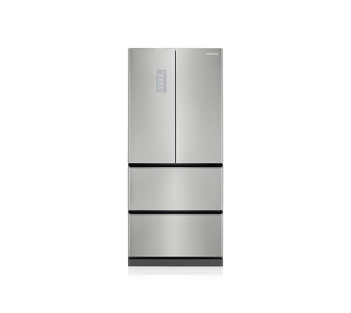 [L] 위니아 딤채 4도어 김치냉장고 486L 실버 WDQ48EPRJST / 월53,900원