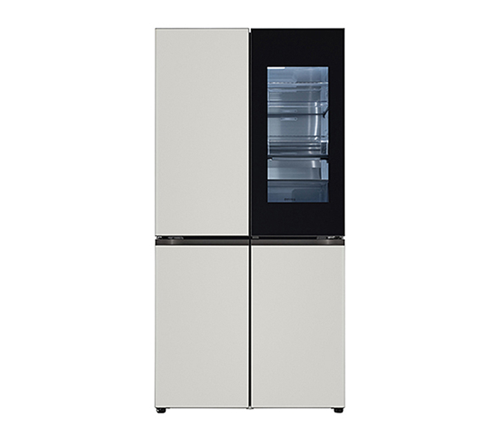 [S] LG 오브제컬렉션 노크온 매직스페이스 냉장고 870L 그레이그레이 M870MGG451 / 월 111,000원