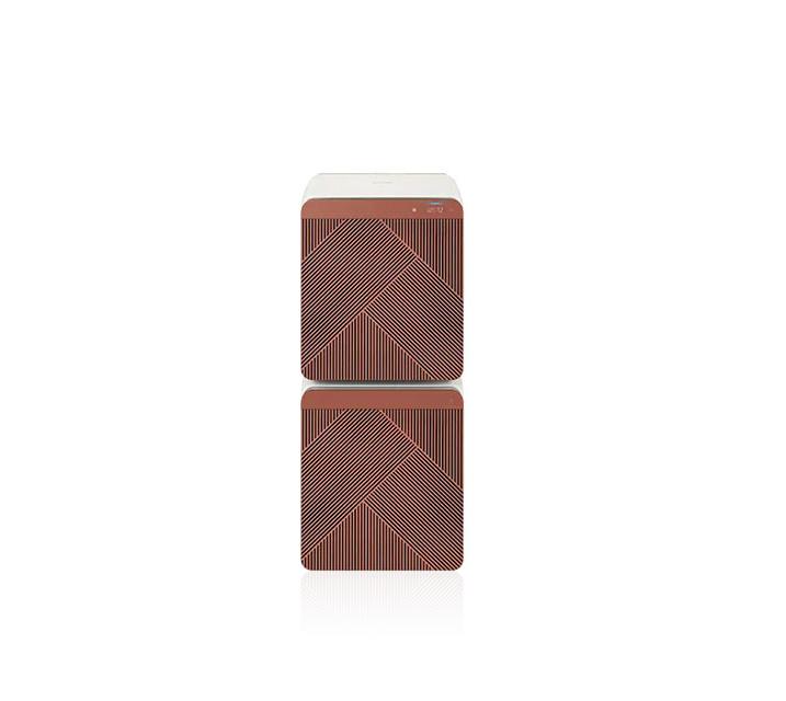 [S] 삼성 비스포크 큐브 에어 펫케어 32평형 공기청정기 테라코타 AX106A9950DD / 월 37,000원