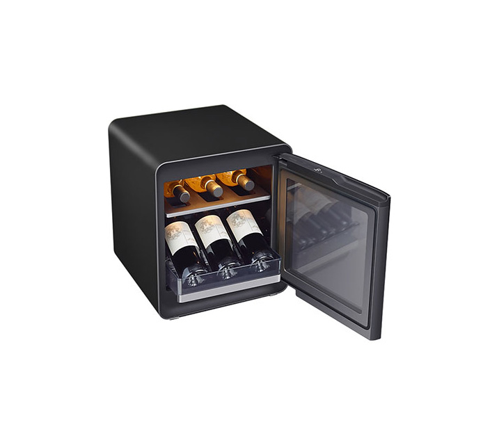[S] 삼성 비스포크 큐브냉장고 25L+와인&비어 수납존 차콜 CRS25T950005W  / 월16,500원