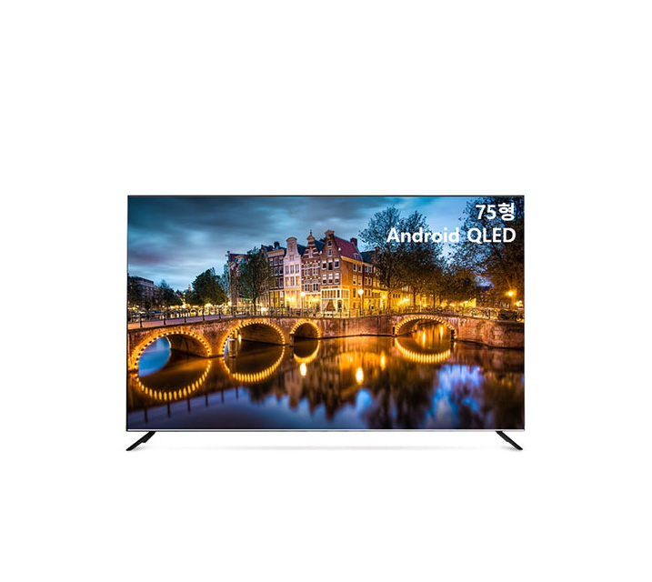 [S] 안드로이드 QLED TV 75인치 IPS 스탠드형 U751QLED IPS_ST / 월40,200원