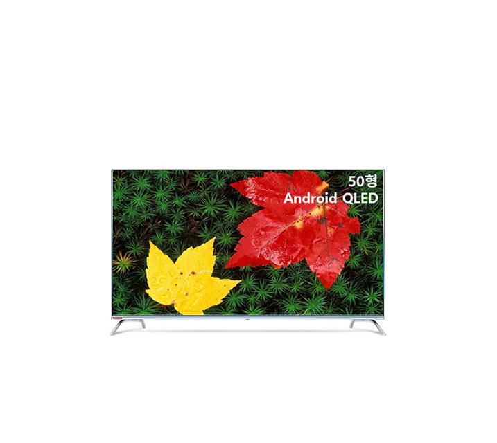 [S] 안드로이드 QLED TV 50인치 VA RGB 스탠드형 U501QLED VA_ST / 월16,300원