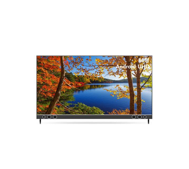 [S] 안드로이드 UHD TV 86인치 IPS 벽걸이형 U863UHD IPS_WA / 월67,200원