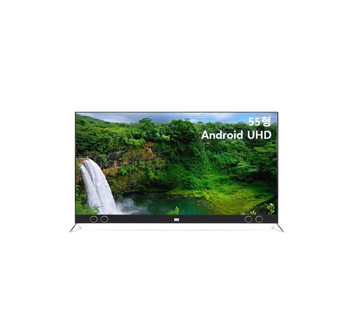 [S] 안드로이드 UHD TV 55인치 VA RGB 스탠드형 U553UHD VA_ST / 월15,400원